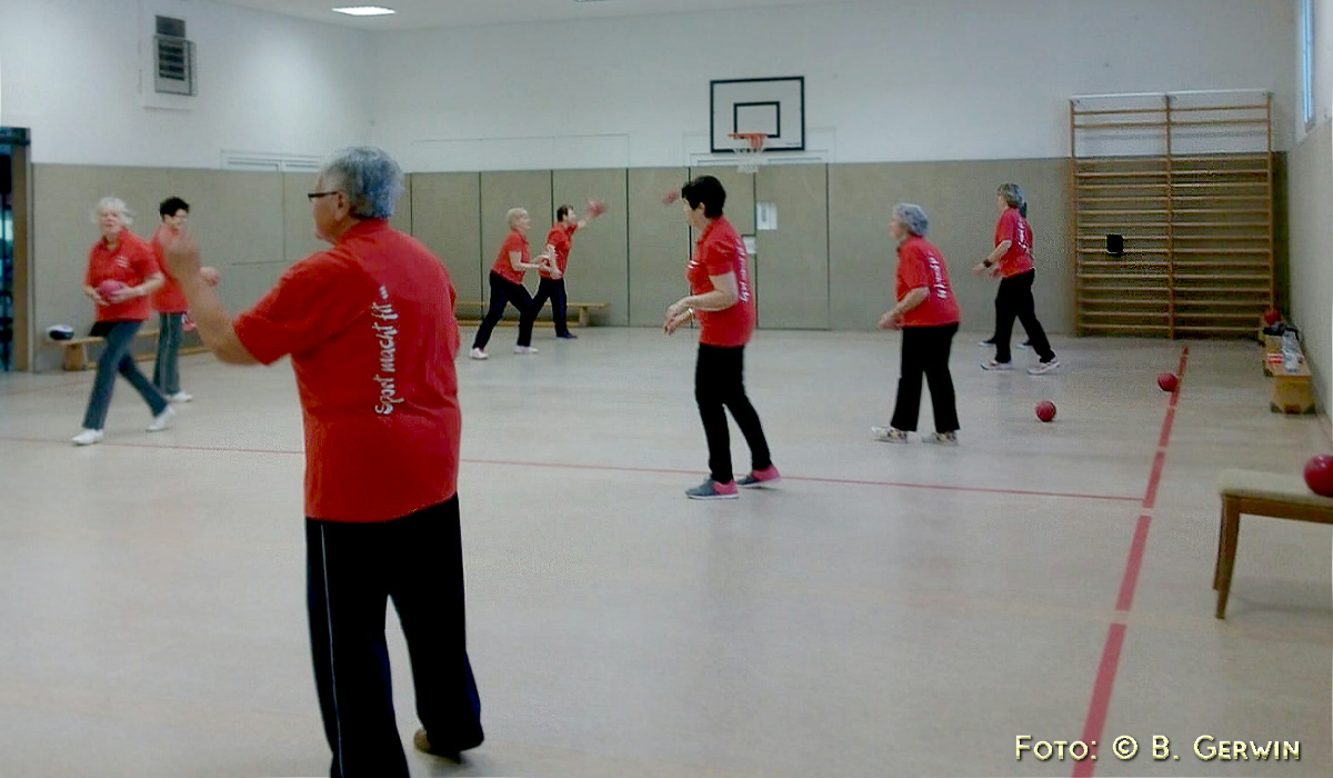 Seniorensport - Ballspiel
